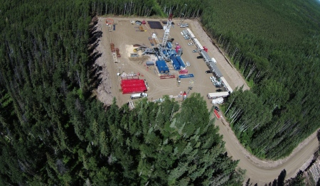 Canadian Natural Resources Limited [CNRL] gas well, 3.4 miles from the Trickle Creek Farm.