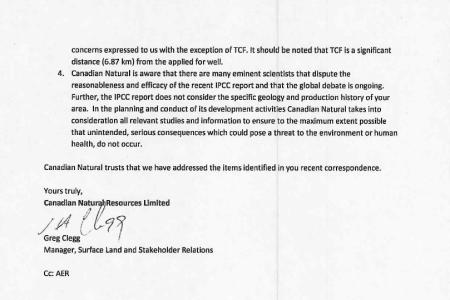 Response Letter 2 of 2