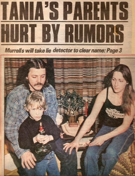 Edmonton Sun story, early 1983