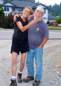 Vivian Murrell with her boyfriend in Peachland, British Columbia in August 2010. A year and a half later, Vivian was dead.[Photo courtesy of Heather]