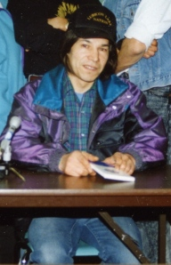 Chief Bernard Ominayak of the Lubicon Cree