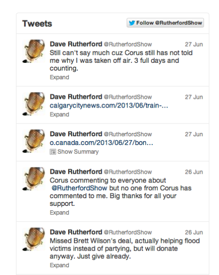 Tweets from Rutherford