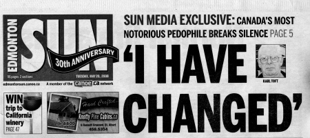 Edmonton Sun Headline - 20 May 2008