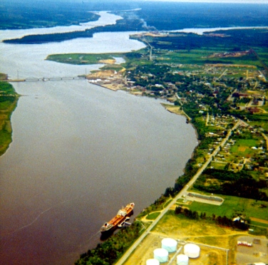 The Miramichi River & Town of Newcastle [1968]