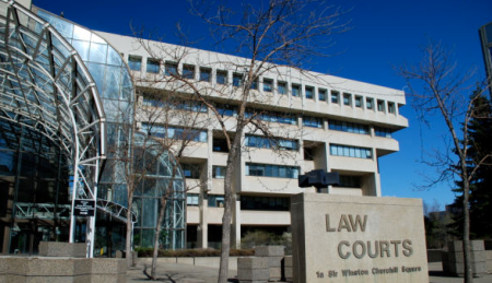 Law Courts Building, Edmonton
