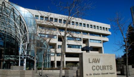 Law Courts Building, Edmonton