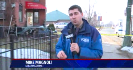 Fox CT Reporter Mike Magnoli