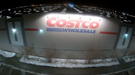 Costco At Night ... the Costco Store on 91st Street in Edmonton.