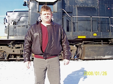 Another Speed Demon who rode the rails for a living. Danny Firlotte, train engineer, lives in Campbellton.
