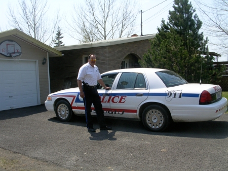 Harvey Martin became the Deputy Police Chief at Listuguj, Quebec.