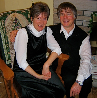 Donna & Paul Cowan. Paul was another Speed Demon who moved away from Campbellton, although he didn't move far -- to New Minus, Nova Scotia. New Minus is known as the 'Soccer Capital of Atlantic Canada.'