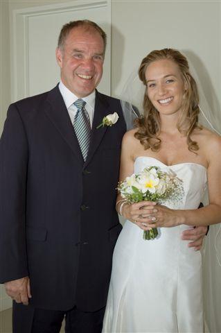 Noonan Maher at the wedding of his daughter