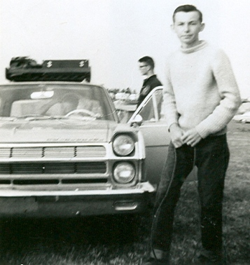 The two Rickies: Speed Demon forward Rick Kierstead and driver Rick Stymiest