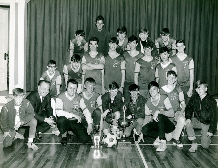 1967 League Champions: the Speed Demons [based at the Baptist Church in Campbellton, N.B.]