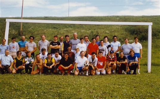 The Senior and Junior teams played their only game against each other at the 1986 Reunion. The Juniors won.