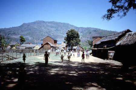 In rural Nepal, foreigners were an unusual sight and many of the children in this village came to check us out.