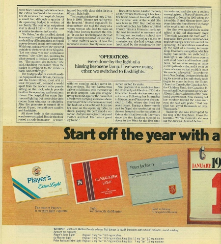 Click to Enlarge - Page 10 of Today Magazine : 26 December 1981