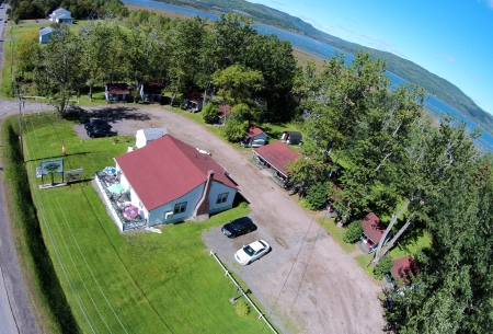 #21 - The historic Sanfar Cabins and Dining Room in Tide Head, just west of Campbellton. Here's an unabashed plug for David Richards and his crew: old-fashioned hospitality that will never go out of style.
