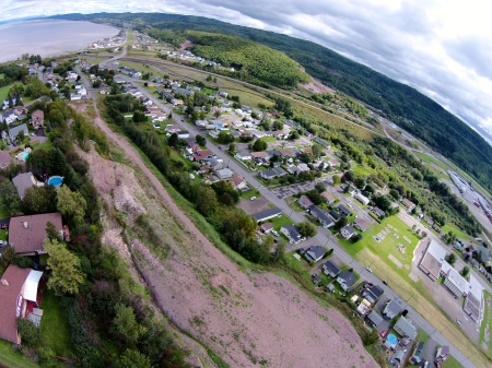 #16: Southeast Campbellton and the Bay of Chaleur.