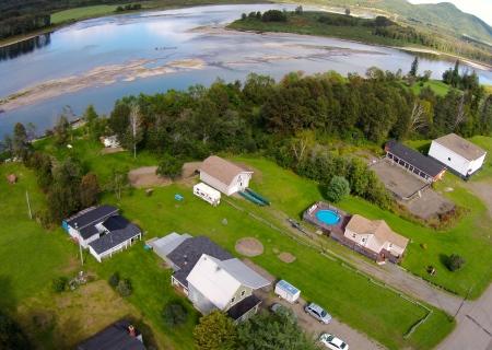 #26: Flatlands, a few miles west of Tide Head. Flatlands is the home of CKNB [Campbellton] announcer Mark Firth.