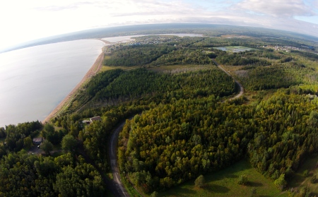 #26: East of Dalhousie, which is east of Campbellton.