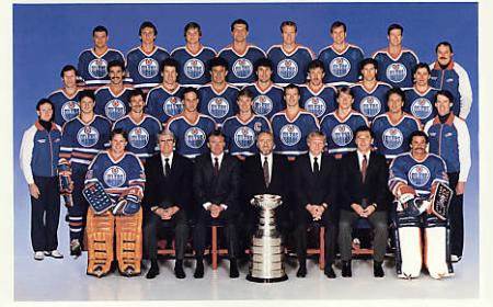 Edmonton Oilers: 1984 Stanley Cup Champion.