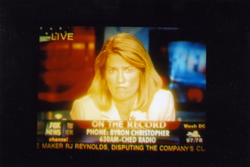 The Michael White murder trial attracted the attention of the U.S. media. Pictured is Greta Van Sustren of Fox News.