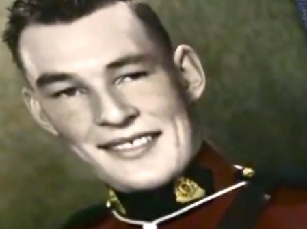 Jack Ramsay when he was a member of the RCMP.
