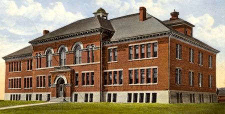 Grammar School on Andrew Street in Campbellton.