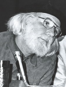 Father Ernesto Cardenal, Nicaragua's Minister of Culture.