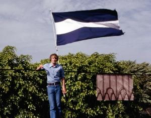 Nicaragua Byron Flag 1