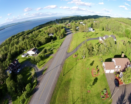 McLeod's Siding: Home of the Restigouche Golf and Country Club.