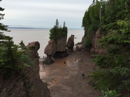Hopewell Rocks, near Saint John, New Brunswick.