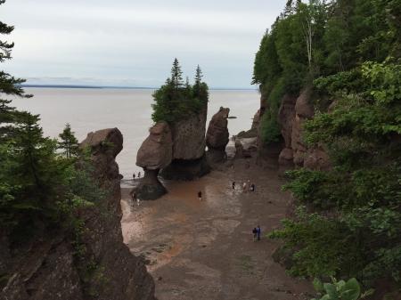 Hopewell Rocks, near Saint John, New Brunswick.