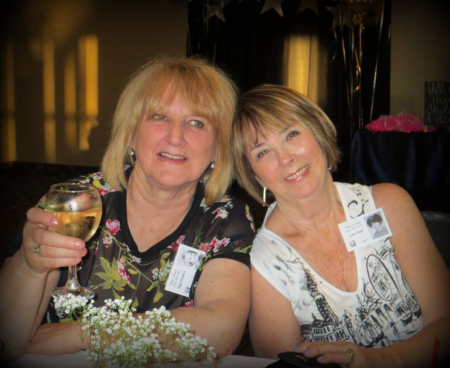 Peggy Hamilton and Lynn Taylor [Photo by Rose Beek]