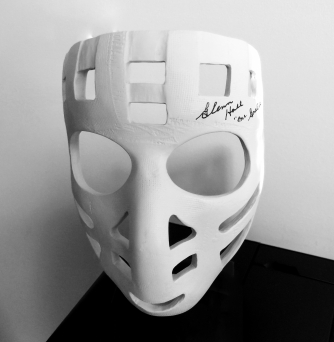 Glenn Hall's Mask
