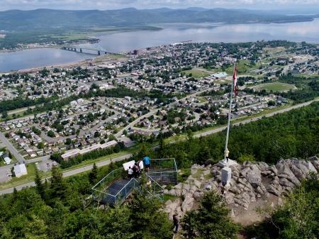 Canada – Un voyage de Québec vers la Gaspésie a travers les paroisses au 19 eme siècle Campbellton-sugarloaf