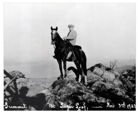 Horse on Sugarloaf 1923. Joe Lacasse jpg.jpg